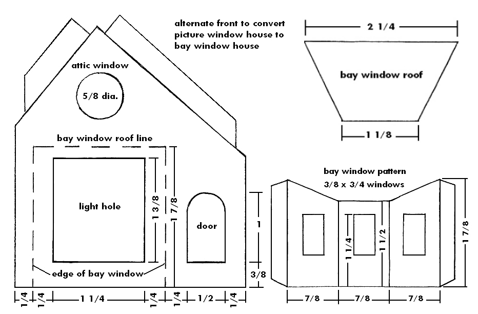 Building A Bay Window House Howard 39 S How To 39 S From