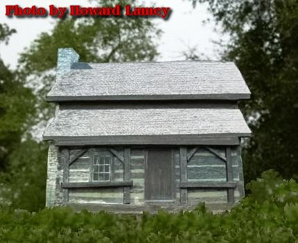 Easy Log Cabin Flat Howard 39 S How To 39 S From