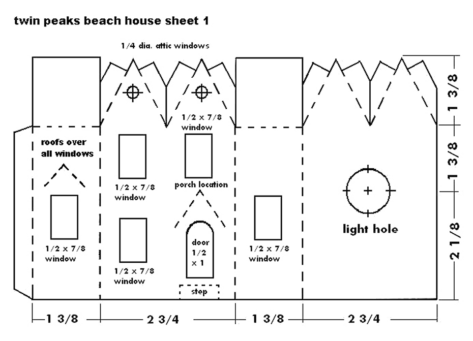 Building the Twin Peaks Beach House - Howard's How-To's ...