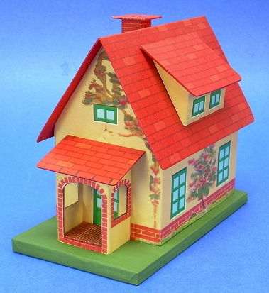 Cereal box house project